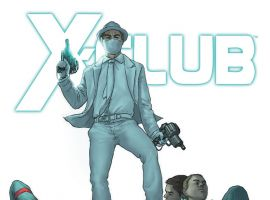 X-CLUB (2011) #4 Cover