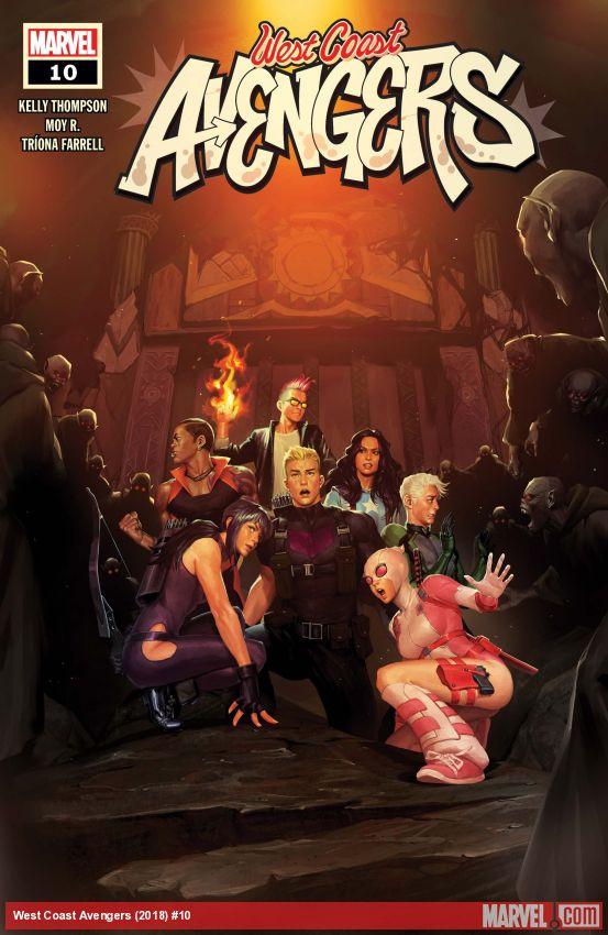 West Coast Avengers (2018) #10