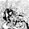 AVENGERS: THE INITIATIVE #29 black and white preview art by Rafa Sandoval