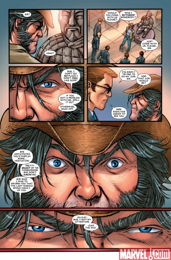 WOLVERINE: FIRST CLASS #13 preview page 7