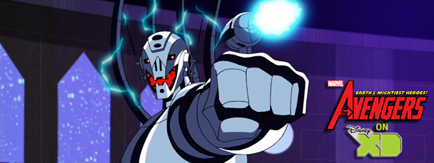 Ultron Attacks The Avengers: Earth's Mightiest Heroes! This Sunday