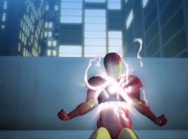 A screenshot from Iron Man: Armored Adventures