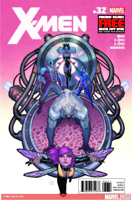 X-MEN 32 (WITH DIGITAL CODE)