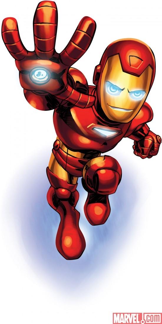 Marvel Super Hero Squad Iron Man