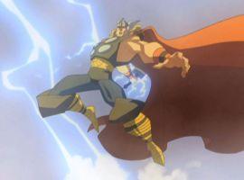 Thor brings the lightning