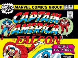 CAPTAIN AMERICA #198 COVER