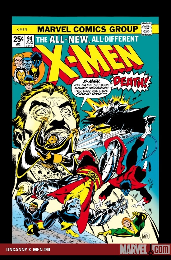 Uncanny X-Men (1963) #94