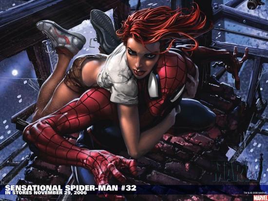 Sensational Spider-Man (2006) #32 Wallpaper