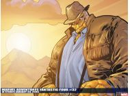 Marvel Adventures Fantastic Four (2005) #32 Wallpaper