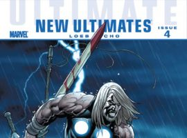 ULTIMATE COMICS NEW ULTIMATES #4 cover by Frank Cho