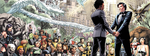 Save the Date: Landmark X-Men Marriage