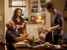 Martin Sheen as Uncle Ben, Sally Field as Aunt May and Andrew Garfield as Peter Parker/Spider-Man