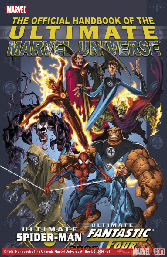 Official Handbook of the Ultimate Marvel Universe #1 Book 2 (2006) #1 Cover