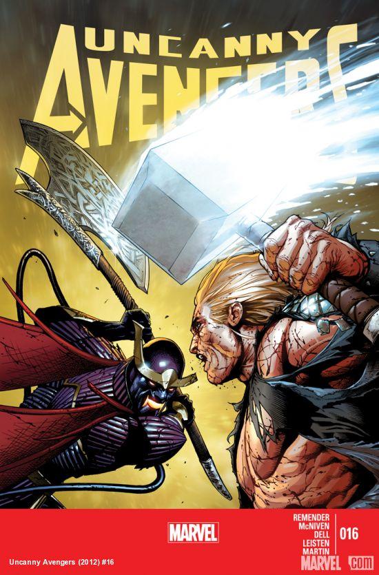The avengers comic 2012