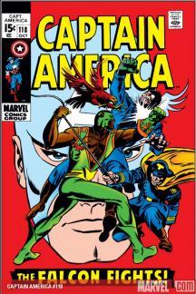 Captain America #118