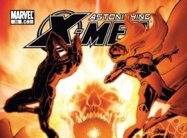 Astonishing X-Men #35 cover by Phil Jimenez