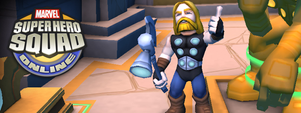 Ultimate Thor Enters Super Hero Squad Online