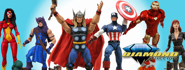 Marvel Select Avengers Assemble