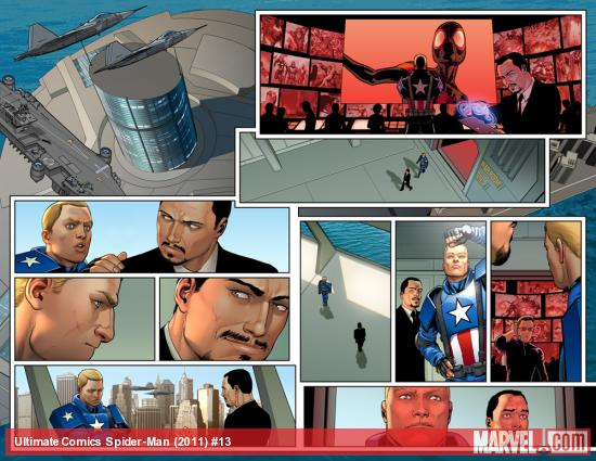 Ultimate Comics Spider-Man #13 preview art by David Marquez