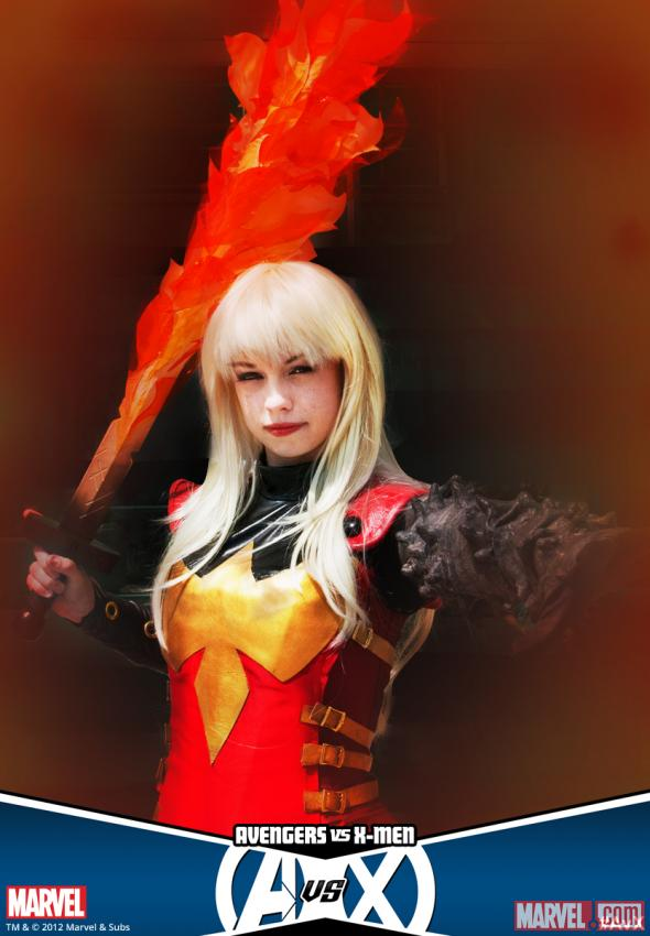 El Paso Cosplay as Phoenix Five Magik (photo by Nicole Ciaramella)