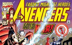 Avengers (1998) #21 Cover