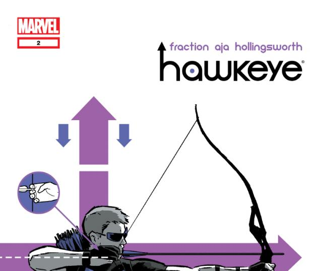 Cover: Comic Issue Hawkeye (2012) #2