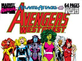 Avengers West Coast Annual (1989) #4