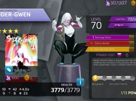 Spider-Gwen in Marvel Puzzle Quest