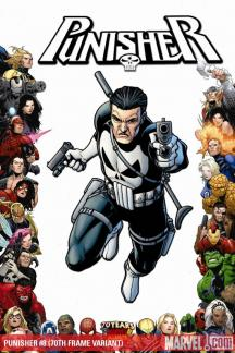 Punisher (2008) #8 (70TH FRAME VARIANT)