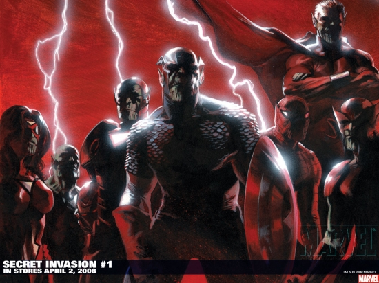 Secret Invasion (2008) #1 Wallpaper