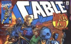 Image Featuring Rogue, Cable