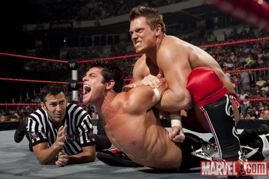 The Miz torments Evan Bourne