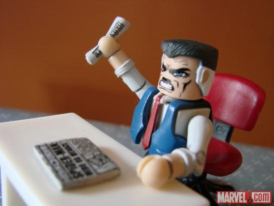 J. Jonah Jameson Minimate by Diamond Select Toys