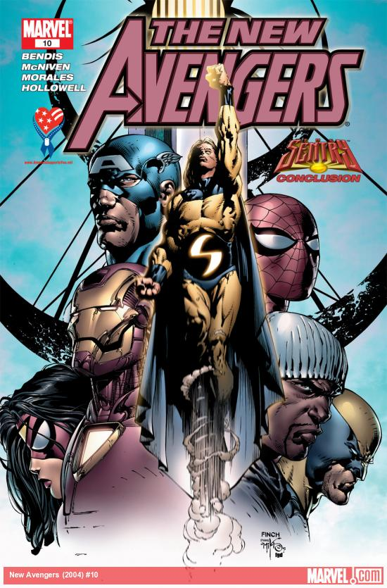 New Avengers (2004) #10
