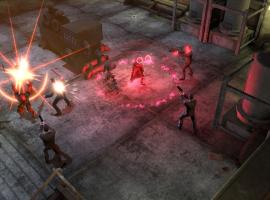 Screenshot of Deadpool and Scarlet Witch in Marvel Heroes