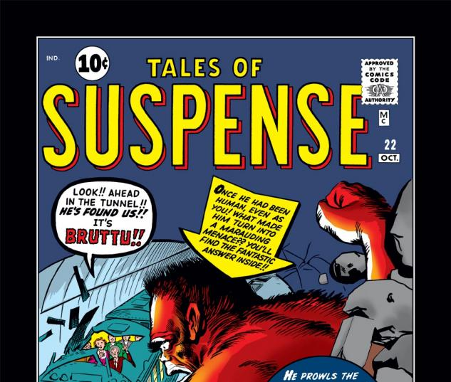 Tales of Suspense (1959) #22 Cover
