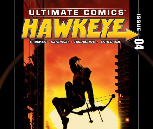 Ultimate Hawkeye (0000) #4 Cover