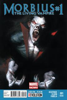 Morbius: The Living Vampire (2013) #1 (2nd Printing Variant)