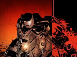 INVINCIBLE IRON MAN #24 50/50 Cover by Patrick Zircher