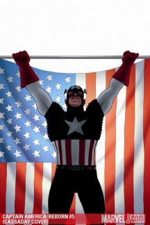 Captain America: Reborn (2009) #5 (CASSADAY COVER)