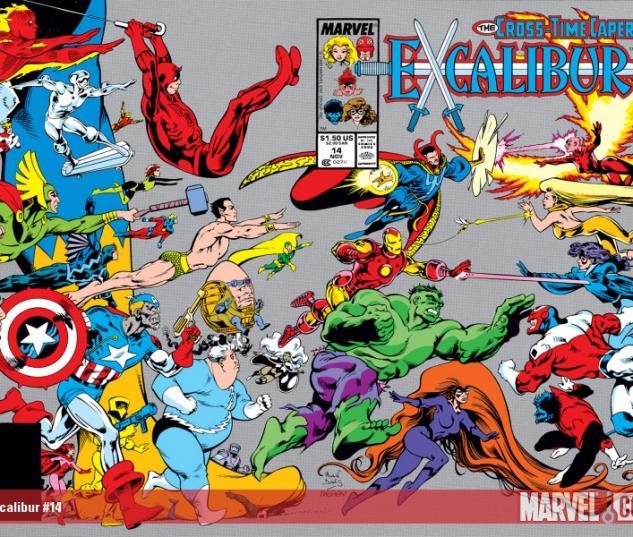 EXCALIBUR #14 COVER