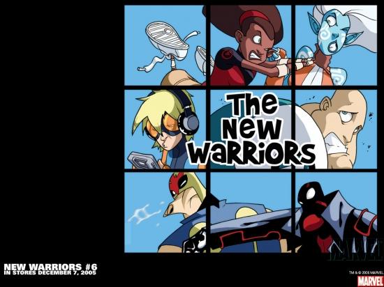 New Warriors (2005) #6 Wallpaper