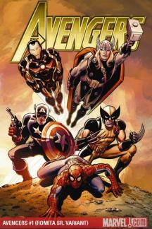 Avengers #1  (ROMITA SR. VARIANT)
