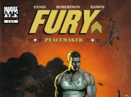 FURY: PEACEMAKER #6 cover
