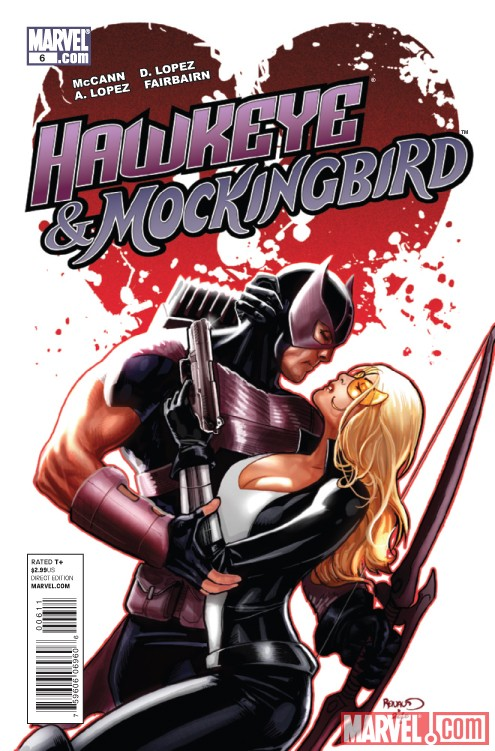 HAWKEYE AND MOCKINGBIRD #6 cover by Paul Renaud