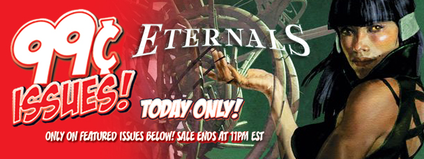 Marvel App: Get Eternals Issues for 99 Cents