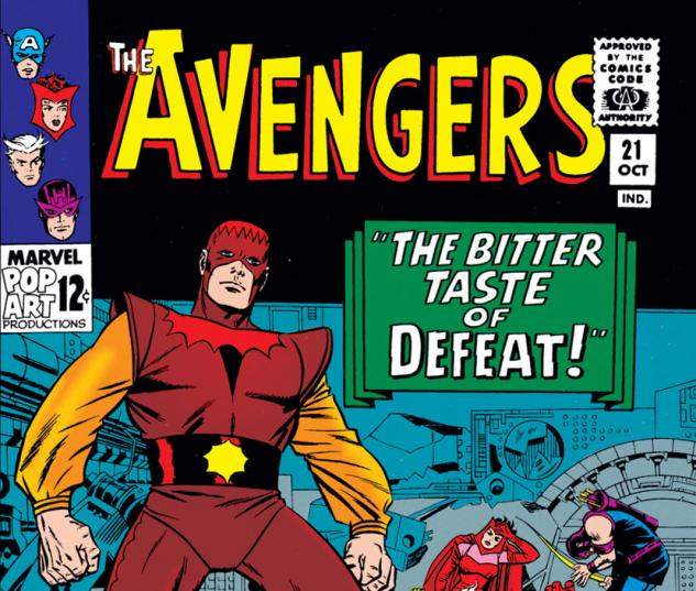 Avengers (1963) #21 cover