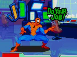 Marvel Vs. Capcom Origins:Venom Storm Spider-Man