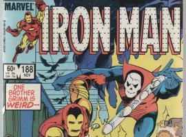 Iron Man #188 cover