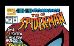 Web of Spider-Man (1985) #125 Cover